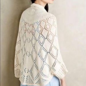 Angel Of The North ANTHRO | Knit Crochet Cardigan